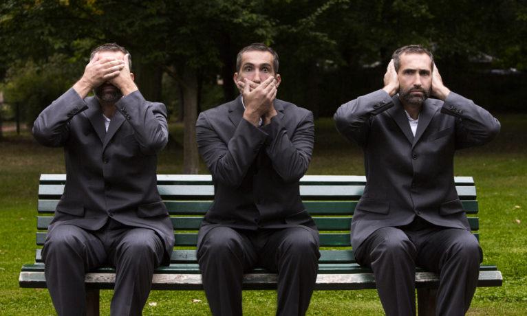 3 Monkey Businessmen